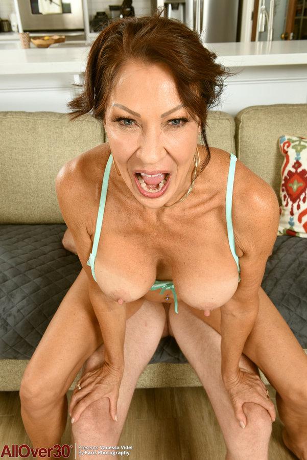 Vanessa Videl Strokes Pigtails Dick 1